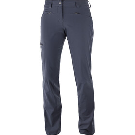 Salomon Wayfarer Pants Regular Dam graphite